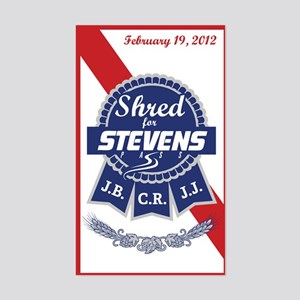 Shred for Stevens Pass Sticker (Rectangle)