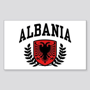 Albania Rectangle Sticker