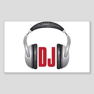 DJ Sticker (Rectangle)