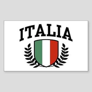 Italia Rectangle Sticker