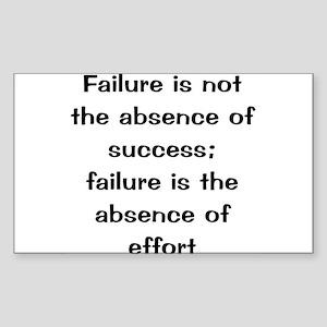 what is failure Sticker