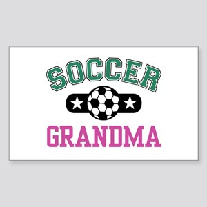 Soccer Grandma Rectangle Sticker