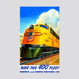 Ride the 400 Fleet Sticker (Rectangle)
