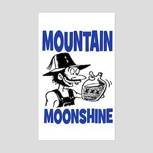 MOUNTAIN MOONSHINE Sticker (Rectangle)
