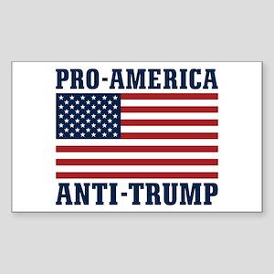 Pro-America Anti-Trump Sticker