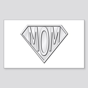 Super Mom Rectangle Sticker