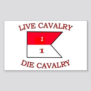 2nd Squadron 1st Cavalry Sticker (Rectangle)