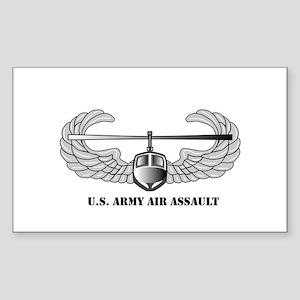 Air Assault Wings Rectangle Sticker