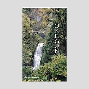 Oregon - Multnomah Rectangle Sticker