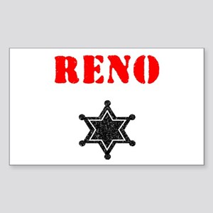 Reno 911 Rectangle Sticker