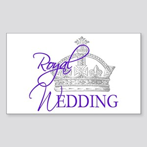Royal Wedding London England Sticker (Rectangle)