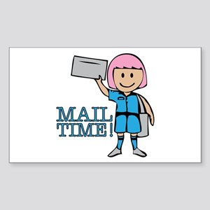 Mail Time Sticker
