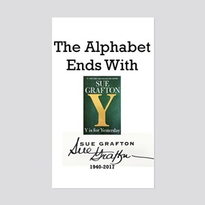 Alphabet Ends With Y Sticker