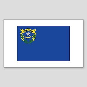 Flag of Nevada Sticker (Rectangle)