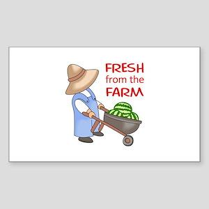 FRESH FROM THE FARM Sticker