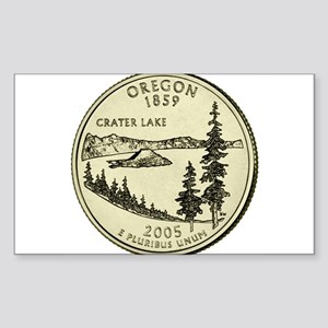 Oregon Quarter 2005 Basic Sticker