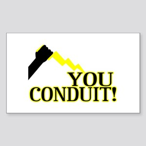 You Conduit Sticker (Rectangle)