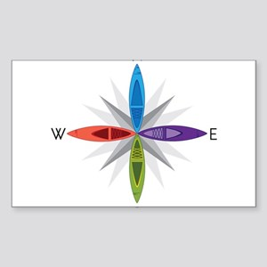 Directions Sticker (Rectangle)