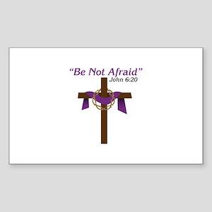 Be Not Afraid John 6:20 Sticker