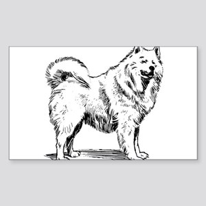 Samoyed dog Sticker