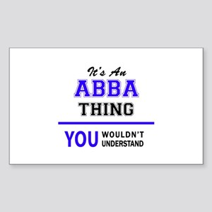 ABBA thing, you wouldn't understand! Sticker