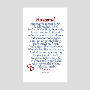 Husband Love Sticker (Rectangle)