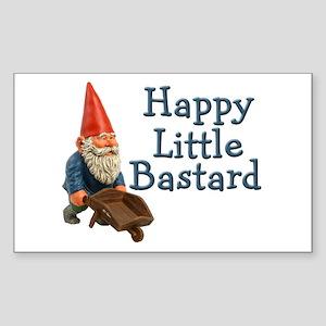 Happy little bastard Rectangle Sticker