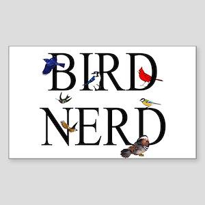 Bird Nerd Sticker (Rectangle)