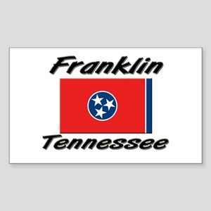 Franklin Tennessee Rectangle Sticker