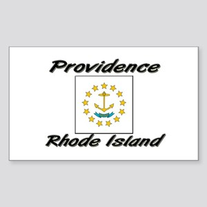 Providence Rhode Island Rectangle Sticker
