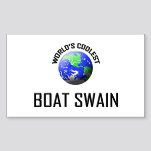 World's Coolest BOAT SWAIN Rectangle Sticker