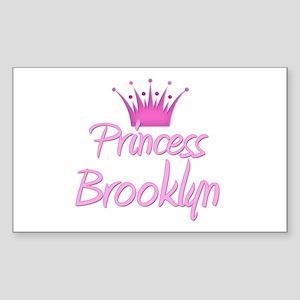 Princess Brooklyn Rectangle Sticker