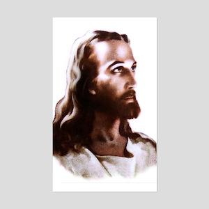 Jesus Sticker (Rect.)