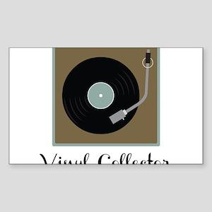 Vinyl Collector Sticker (Rectangle)