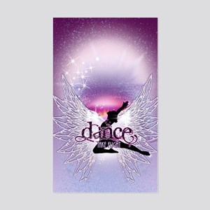 Dance Angel by DanceShirts.com Sticker (Rectangle)