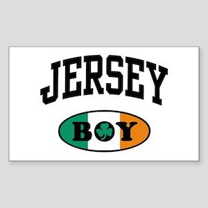 Irish Jersey Boy Rectangle Sticker
