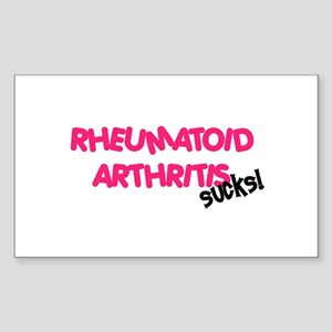 Rheumatoid Arthritis Rectangle Sticker