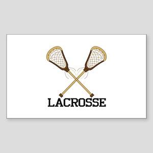 Lacrosse Sticker