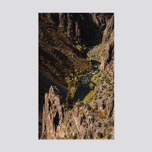 Black Canyon of the Gunnison Sticker (Rectangle)