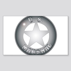 US Marshal Badge Sticker