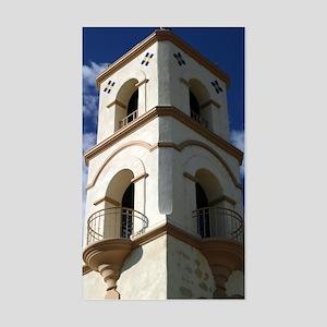 Ojai Tower Sticker (Rectangle)