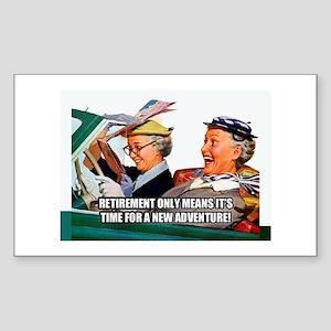 Retirement Adventure Sticker