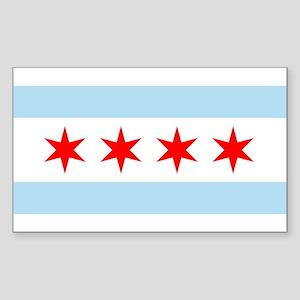 Flag of Chicago Sticker