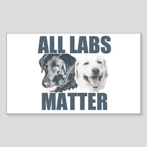 All Labs Matter Sticker (Rectangle)
