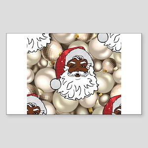 african santa claus Sticker