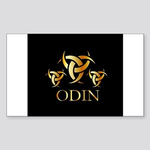 Odin- The graphic is a symbol of the horns Sticker