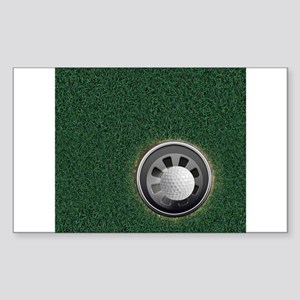 Golf Cup and Ball Sticker