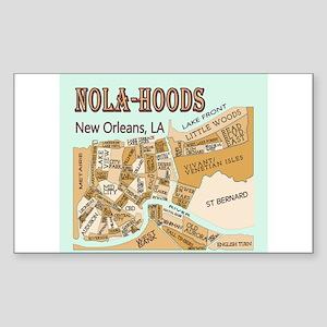 NOLA-Hoods Sticker