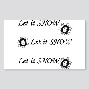 Let is SNOW Sticker