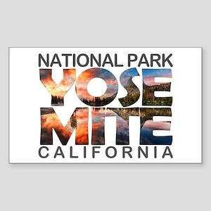 Yosemite - California Sticker